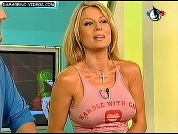 Hot argentina model Gisela Barreto hard nipples